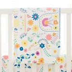 Floral Baby Blanket with Minky Backing | Wildflower Collection