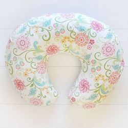 Pink Paisley Nursing Pillow Covers