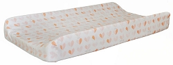 Peach Heart Changing Pad Cover | Once Upon a Time
