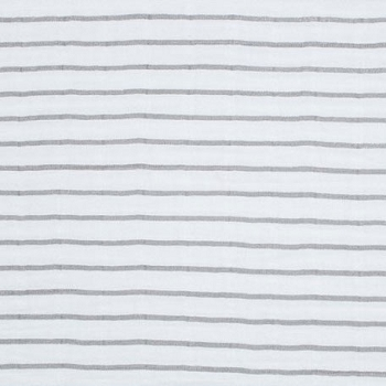 Shannon Fabrics Pencil Stripe Embrace Steel