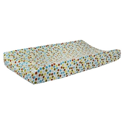 Polka Dot in Moss Changing Pad Cover
