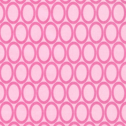 Retro Circles in Pink