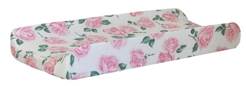 Floral Muslin Changing Pad Cover | Rose Garden Collection