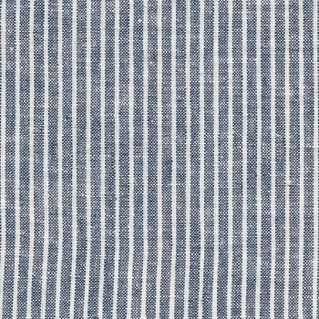 Denim Stripe Washed Linen