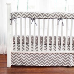 Chevron Nursery Rail Guard Set | Zig Zag Baby Collection