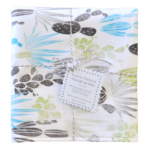 Cactus Travel Changing Pad | Desert Dawn in Earth Collection