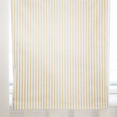 Gold Stripe Baby Blanket | Gold Dust Crib Collection