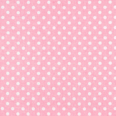 Premier Prints Dottie Baby Pink Polka Dot Fabric
