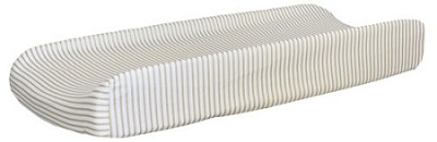 Gold Stripe Changing Pad Cover  |  Gold Dust Crib Collection