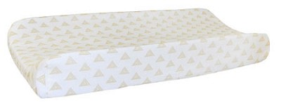Gold Changing Pad Cover | Head West Crib Collection