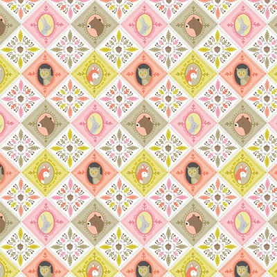 Ana Davis by Blend Born Wild Patchwork Fabric