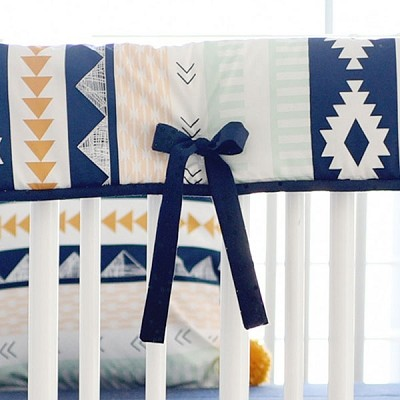 Aztec Crib Rail Cover | Arid Horizon II Collection