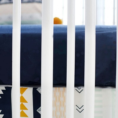 Navy Crib Sheet | Arid Horizon II Crib Collection