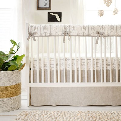 Arrow Crib Bedding | Be Brave Rail Cover Collection