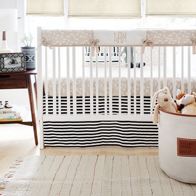 Woodland Crib Rail Cover Set | Bear Hug Collection