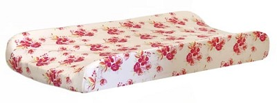 Pink Changing Pad Cover | Pink Corsage Charm Crib Collection
