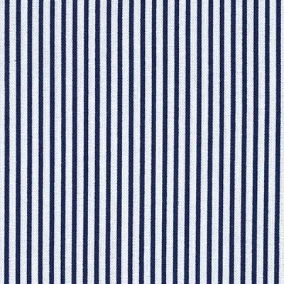Dear Stella Designs Dress Stripe Navy Fabric