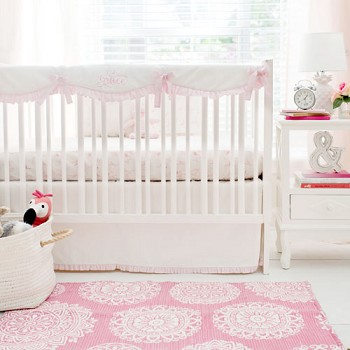 Pink Flamingo Crib Baby Bedding Collection