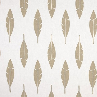 Premier Prints Feather Silhouette White/Athena Gold