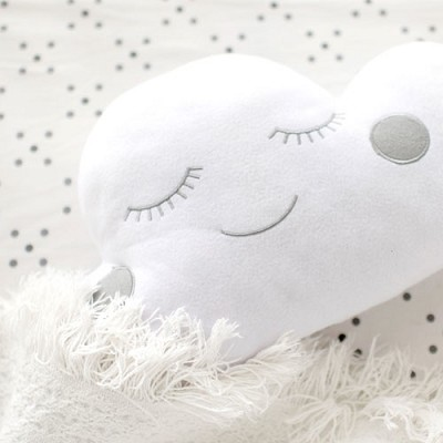Cloud Pillow in Gray