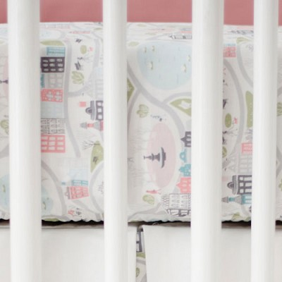 City Scenic Crib Sheet | In the City Collection
