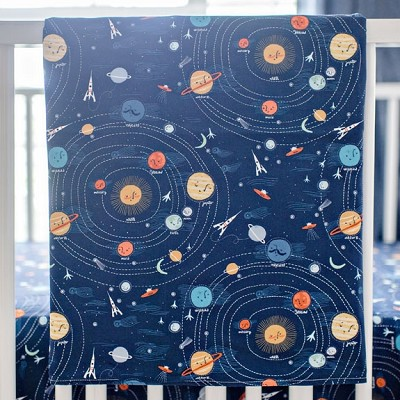 Outer Space Baby Blanket | Blue Moon Collection