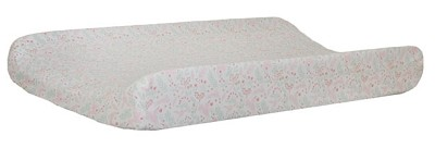 Mint and Pink Unicorn Changing Pad Cover | Magic Folk Collection