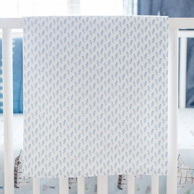 Seahorse Baby Blanket On Sale | Ahoy Matey Collection