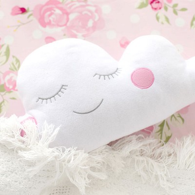 Cloud Pillow in Pink