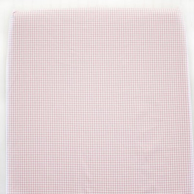 Pink Gingham Crib Sheet