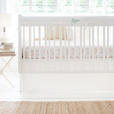 Watercolor Rainbow Crib Bedding Collection