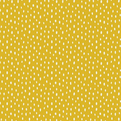 Mustard Yellow Fabric | Scattered Showers Warm