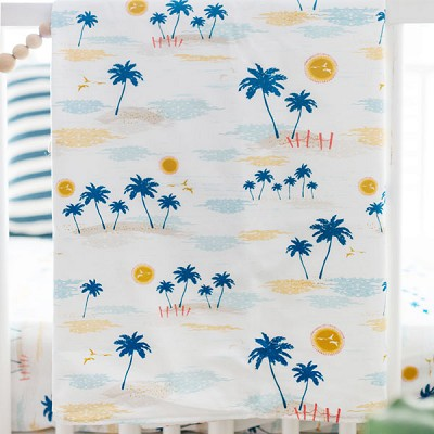 Beach Baby Blanket | Sun Kissed Crib Collection