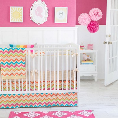 Chevron Baby Bedding  | Sunnyside Up Collection
