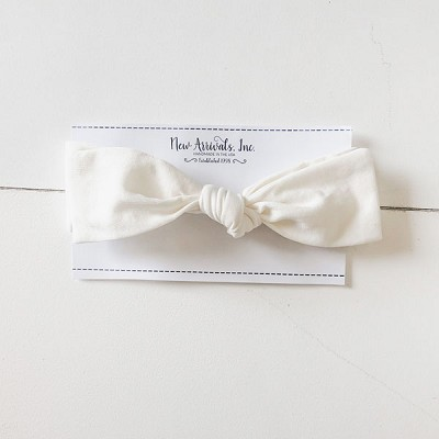 Top Knot Headband - Ivory