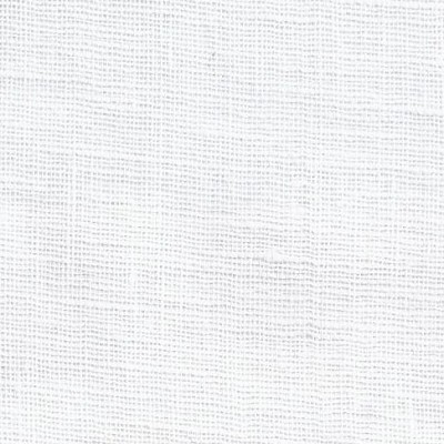 Whisper Linen Fabric in White from Noveltex Fabrics