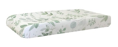 Green Changing Pad Cover | Willow Crib Collection