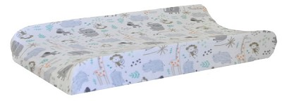 Jungle Muslin Changing Pad Cover | Zoo Escape Crib Collection