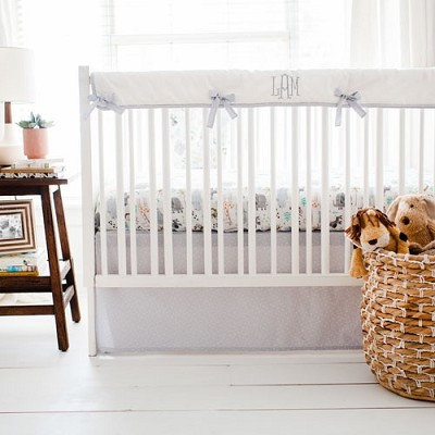 Jungle Crib Rail Guard Set | Zoo Escape Crib Collection